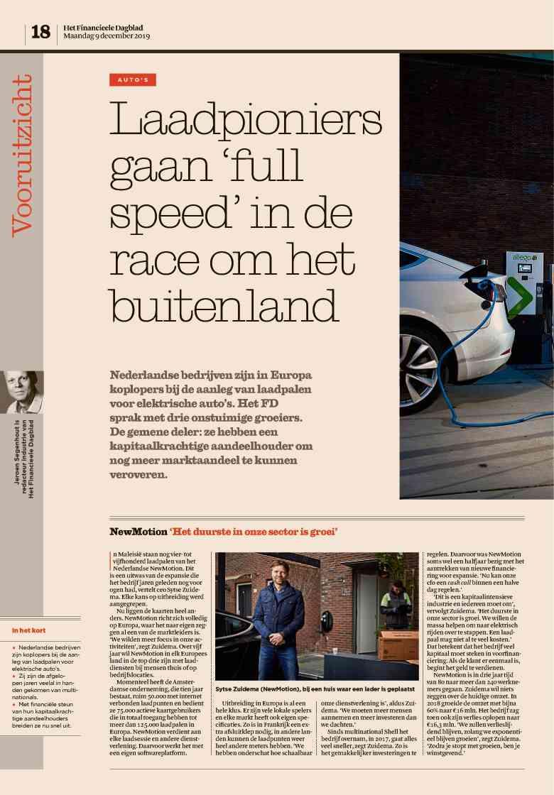 Krant Het Financieele Dagblad