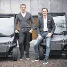 Rudolf Booker (links) en Gijs op de Weegh, van Payvision.