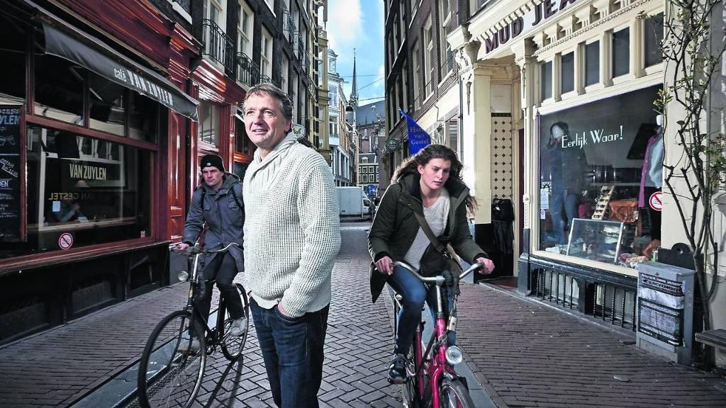 Bert van Son, oprichter en eigenaar van Mud Jeans.
