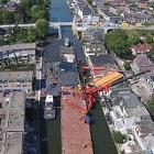 Luchtfoto Julianabrug Alphen
