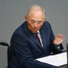 De Duitse Minister Wolfgang Schäuble (Reuters).
