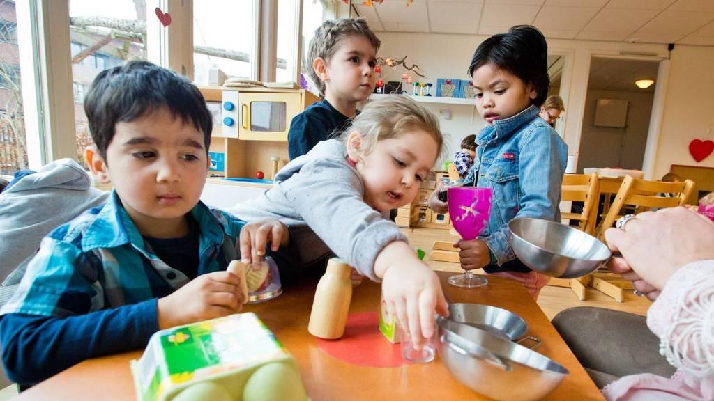 Kinderdagverblijf de Kindertuin, onderdeel van de Sterrenschool in Apeldoorn. Kinderopvang.