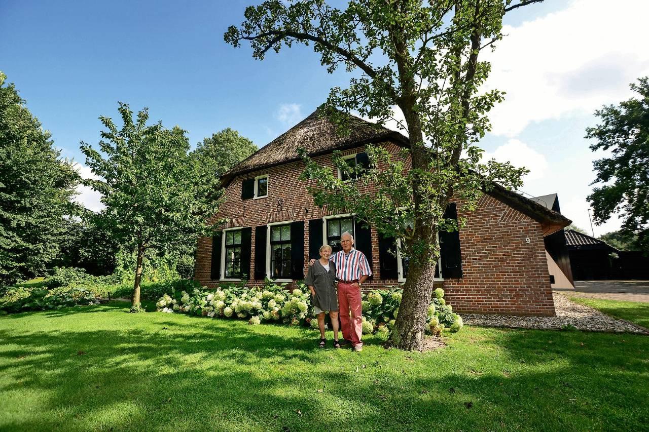 Woonboerderij met priv natuurgebied het financieele dagblad for Woonboerderij te koop