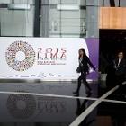 Voorbereidingen van de IMF/Wereldbank-bijeenkomst in de Peruaanse hoofdstad Lima (Reuters)