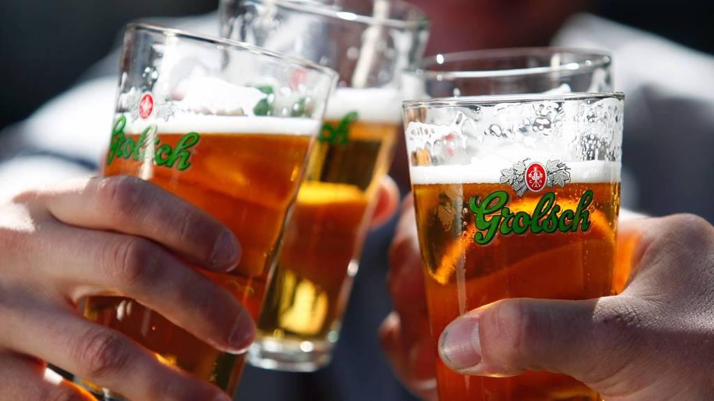 Grolsch is eigendom van bierbrouwer SABMiller (bron: Grolsch)