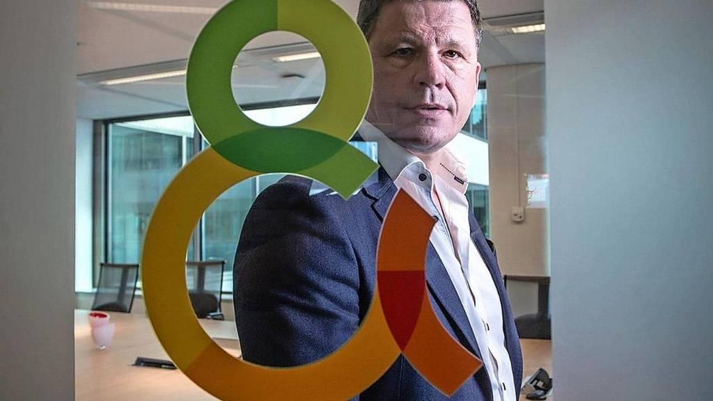 Erik Hoekstra, ceo bij DTG: 'We moeten DTG om de klant heen zien te organiseren'. Foto: Peter Boer voor het FD