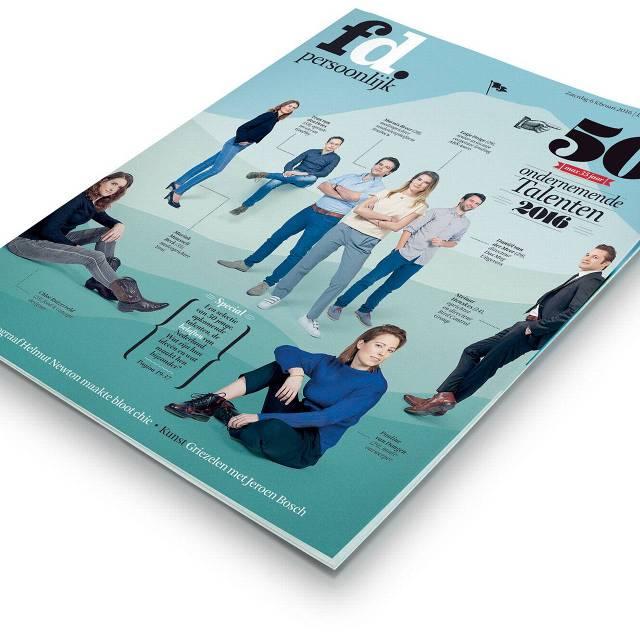 De redactie van FD Persoonlijk selecteerde vijftig talenten van maximaal 35 jaar oud. Ze werden geïnterviewd en leverden info aan over hun favoriete  gadgets, lunch- en vergaderlocaties.