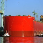 Prelude FLNG in the shipyard of Samsung Heavy Industry i