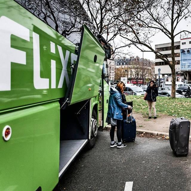 Eindpunt van de FlixBus-route Maastricht-Parijs. Foto: hh