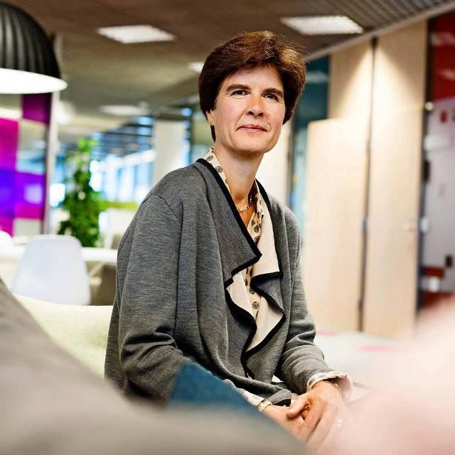 Volgens topvrouw Susan Duinhoven gaat het 'onderhuids' heel goed met Sanoma.