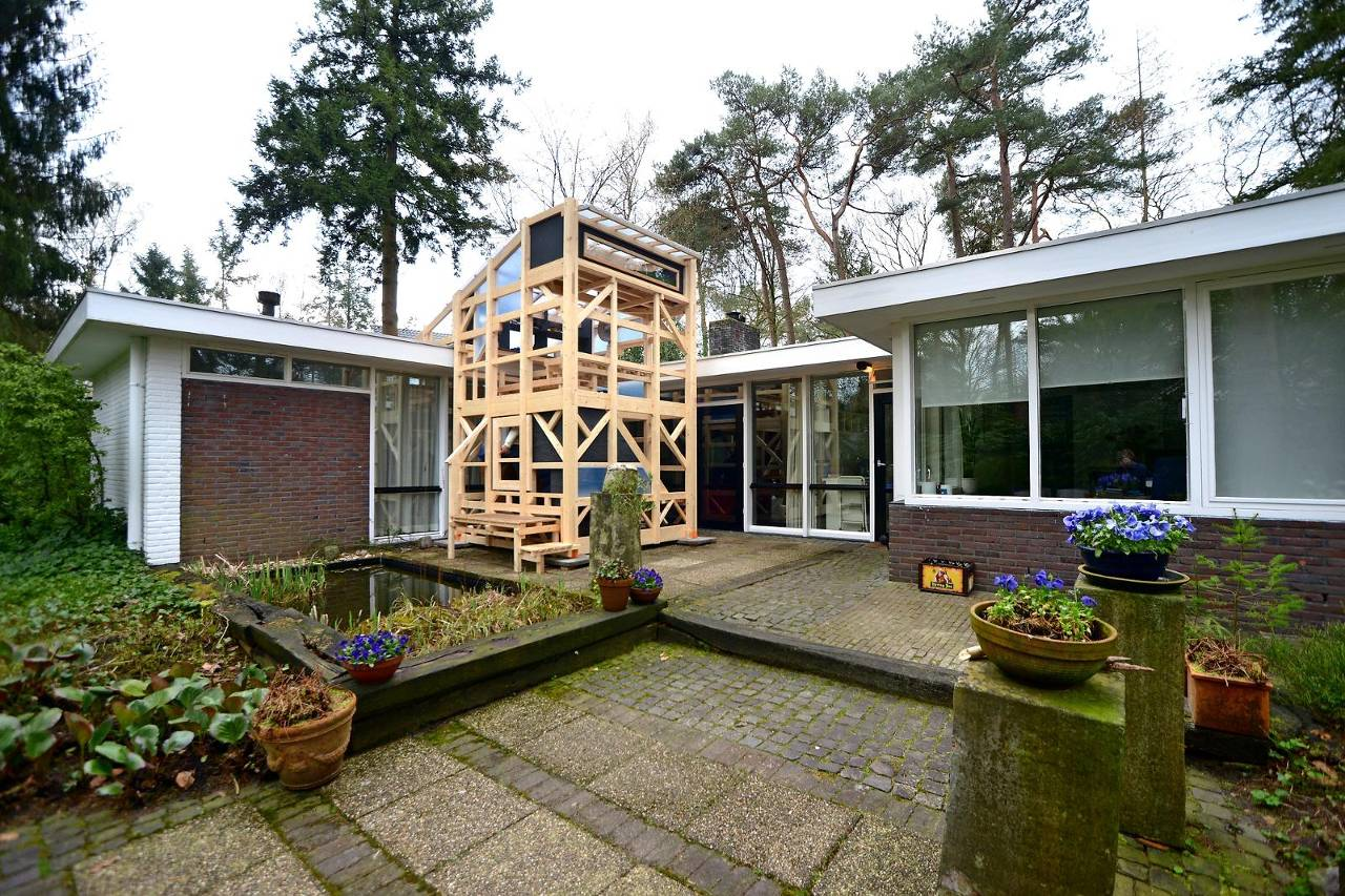 Rietveld woning in lommerrijk apeldoorn het financieele for Huis te koop melsen