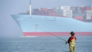Gewicht van de container niet bekend? Dan niet komt ze het schip niet op.