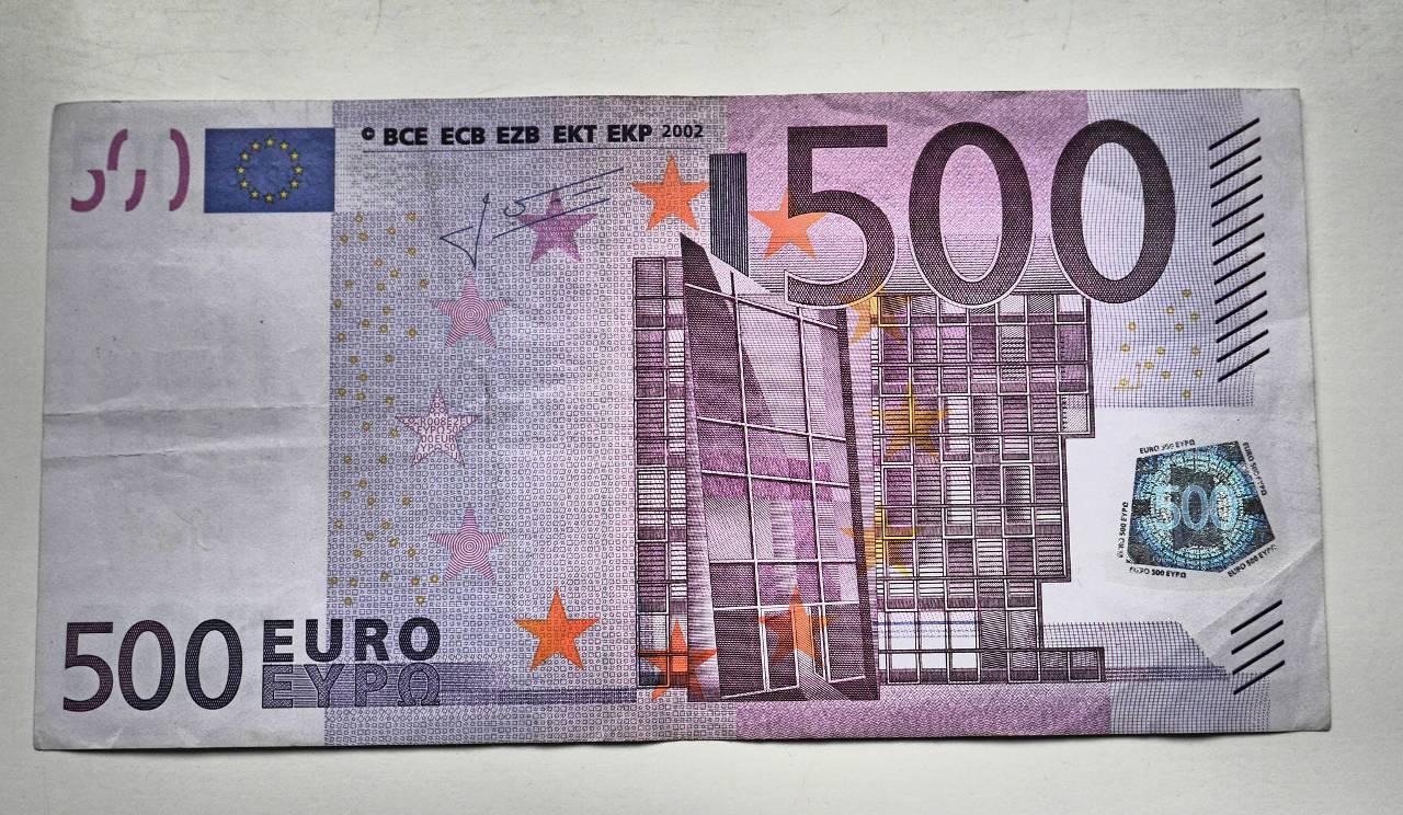 Productie 500 eurobiljet stopt edje 39 s vlog for Ecksofa 500 euro
