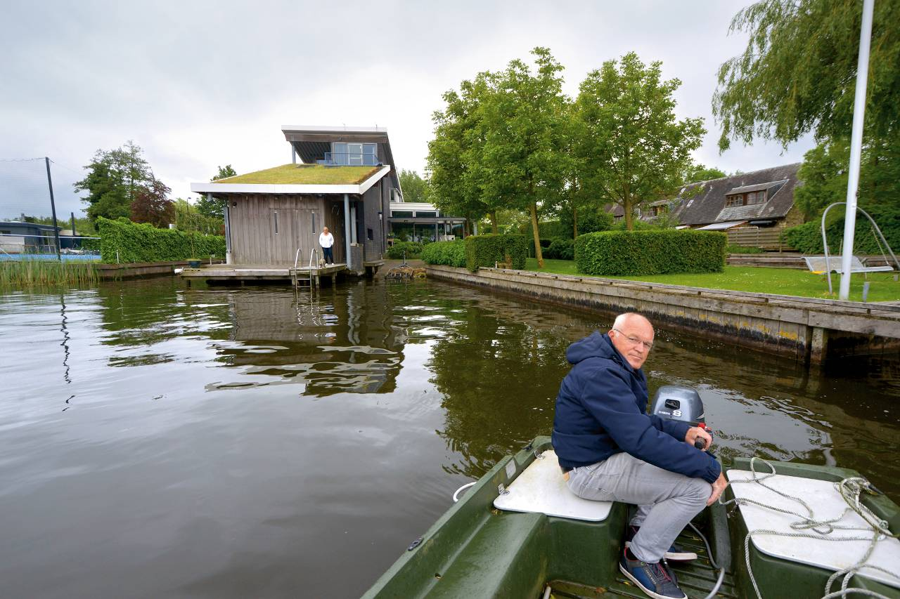 Arkachtig huis aan het water het financieele dagblad for Huis te koop houthalen