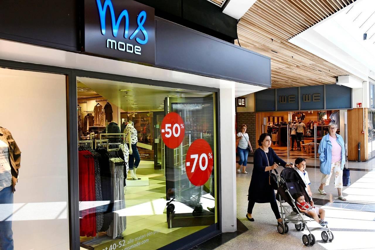 Filiaal van MS Mode in Zwijndrecht. (Foto: HH)