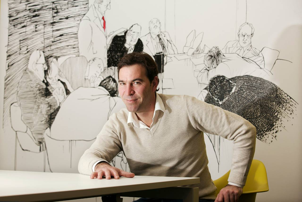 Martijn Hohmann: diep in de krochten van verouderde IT-systemen van banken. (Foto: Peter Strelitski / FD)