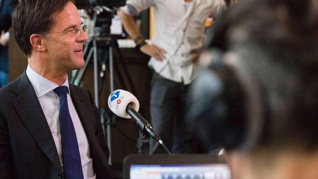 Mark Rutte bij het Radio 1-debat (Foto: Hollandse Hoogte)